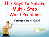 Multi-Step Word Problems Powerpoint