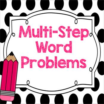 Multi Step Word Problems Freebie!