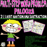 Multi-Step Word Problems - 2-Digit & 3-Digit Addition and