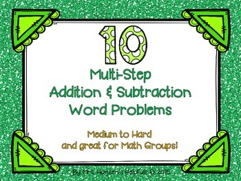 Multi-Step Word Problems + -