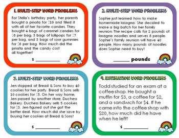Word Problems 4.OA.A.3
