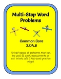 Multi-Step Word Problems 3.OA.8