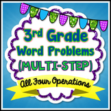 Multi-Step Word Problems - 3rd Grade