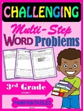 Challenging Word Problems - 3rd Grade - Multi-Step - Commo