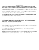 Word Problems Practice --- Multi-Step