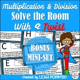 Multi-Step Word Problems - Solve the Room with a Twist