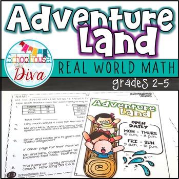 Real World Math Activity
