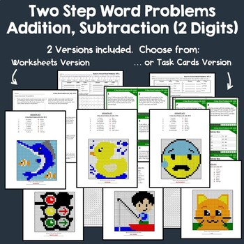 Multi Step Word Problems All Operations, Math Challenge Of The Week Worksheet