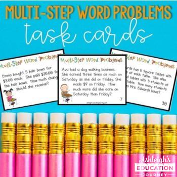 Multi-Step Word Problems - CCS 3.OA.8