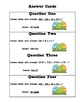 Multi-Step Word Problems - Egg Hunt Activity