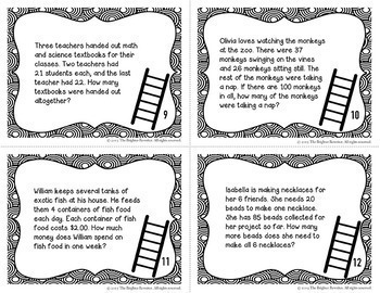 Multi-Step Word Problems FREE