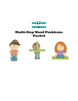 Multi-Step Word Problems Packet