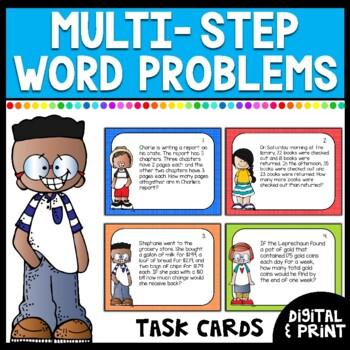 Multi-Step Word Problems- Set 2