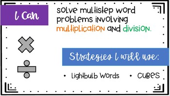 Multi-Step Word Problems Strategies