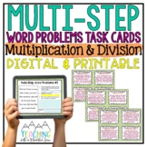 Multiplication & Division Multi-Step Word Problems | Distance Learning | Google