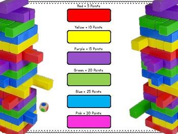 Multi-Step Word Problems Timber Blocks (Jenga Based OR Board Based Games