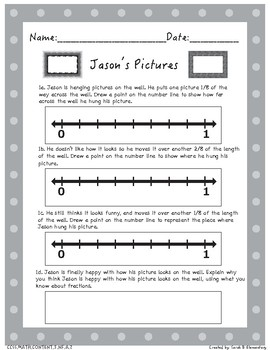 Multi-Step Word Problems (All 3rd Grade Fractions Standards)