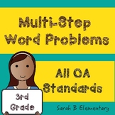 Multi-Step Word Problems (All 3rd Grade OA Standards)