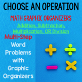 Multi-Step Word Problems with Graphic Organizers NO PREP