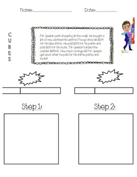 Multi-Step addition and subtraction word problems using BAR model