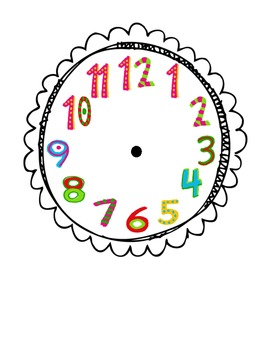 Multi-Style Clock Faces for Daily Schedule