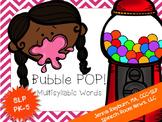 Sound Pop! Multisyllabic Gum Game: Speech Therapy