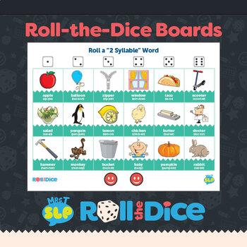 MultiSyllabic Words: Roll-the-Dice Games