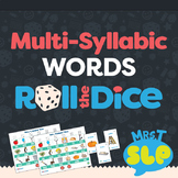 MultiSyllabic Words: Roll-the-Dice Games