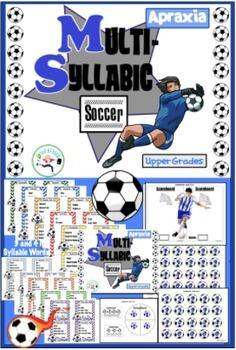 Multi Syllabic Sports Bundle! Apraxia