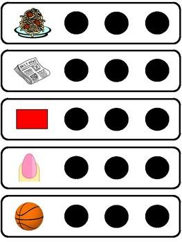 Multi-Syllabic Visual Cards - 3 Syllables