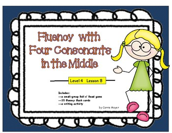 Multi-Syllabic Word Fluency: Compounds & 4 Middle Consonants: Level 4 Lesson 8