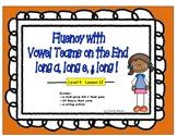 Multi-Syllabic Word Fluency: Vowel Teams on the End: Level 4 Lesson 12