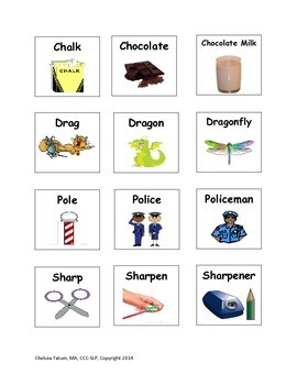 Multi-Syllabic Words for Apraxia of Speech