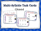 Mark Them Up Task Cards (The Closed Syllable) Orton-Gillin