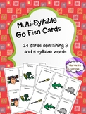 Multi-Syllable Word Cards