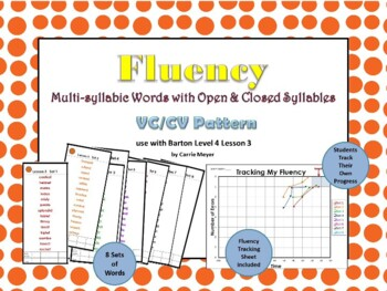 Multi-Syllable Word Fluency: Level 4 Lesson 3 Closed Syllables