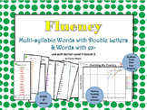 Multi-Syllable Word Fluency: Level 4 Lesson 5 Double Letters and EX-