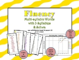Multi-Syllable Word Fluency:Three Syllable Words & Schwa:Level 4 Lesson 10