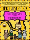 Multi-Syllable Words EXPANSION PACK for The Land of Oz Sight Word Game
