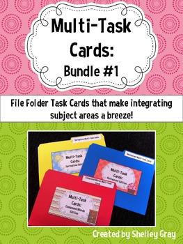 Multi-Task Cards: Bundle #1