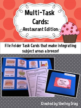 Multi-Task Cards {Restaurant Edition}