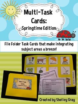 Multi-Task Cards {Springtime Edition}
