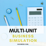 Multi-Unit Business Simulation (Marketing, Finance, and Principles of Business)