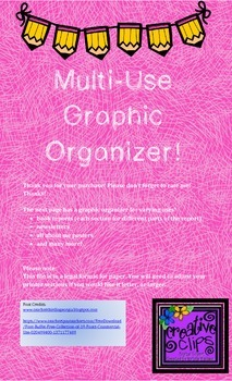 Multi Use Graphic Organizer