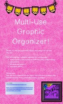 Multi Use Graphic Organizer