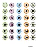 Multi-Use Student Numbers (1-30)