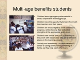Multi-age Co-teaching Powerpoint