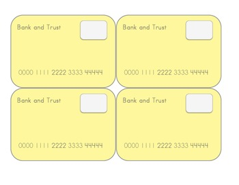 Multi-color Lunch Debit Cards
