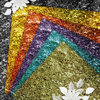 Multi-colored brilliant texture, digital Scrapbooking Paper