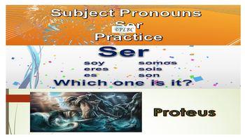 Multi-lesson unit countries, ser, subject pronouns, diadelosmuertos novice